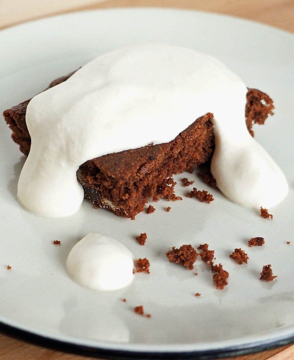 Irish Cream Gluten Free Brownie