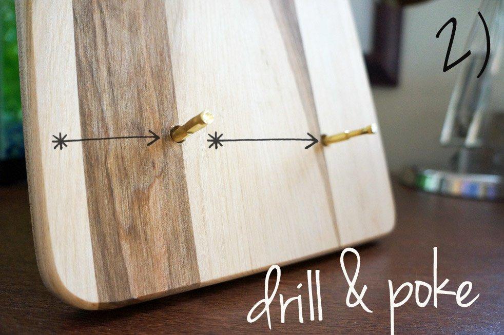 DIY Craft cutting board