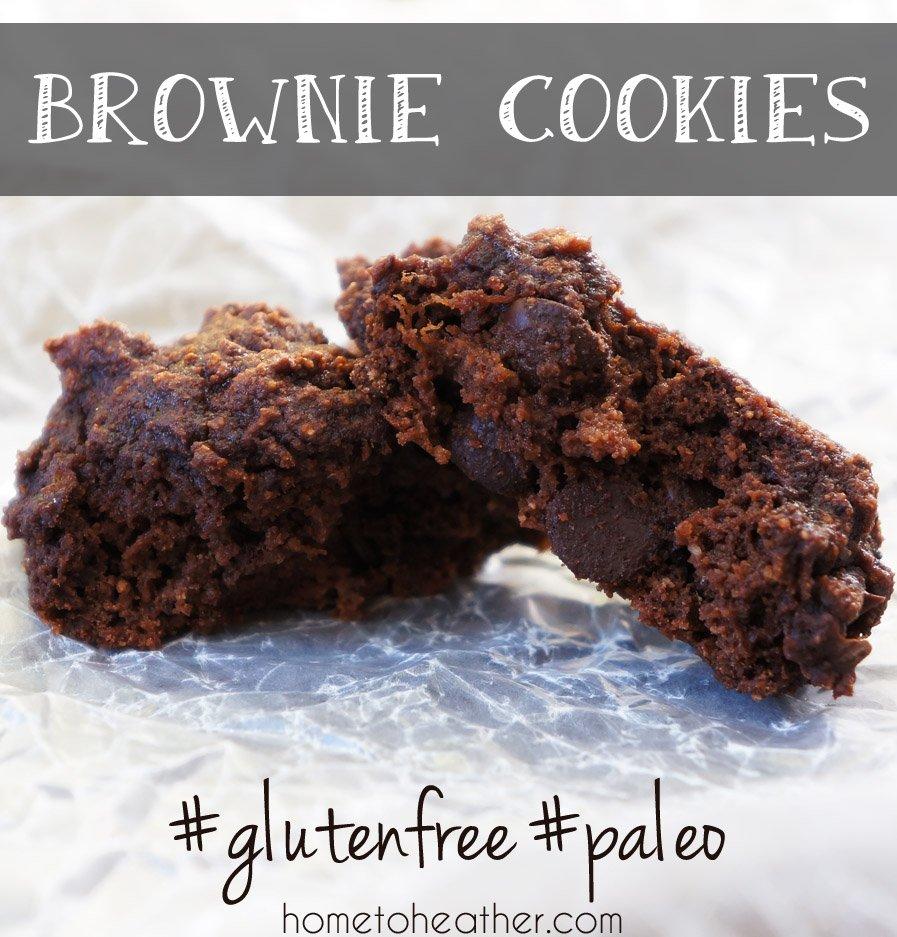brownie cookies paleo