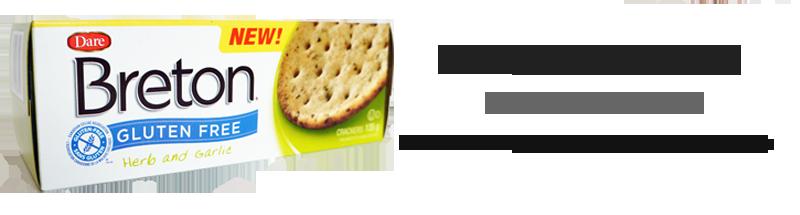 5 Breton Gluten Free Crackers