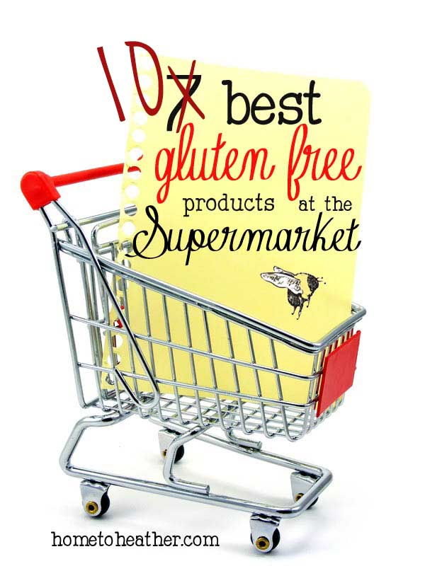 10 Best Gluten Free foods in the Supermarket