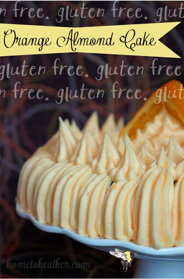 orange almond cake pin
