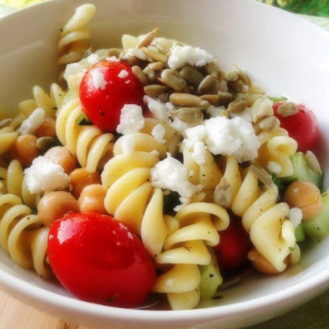 Easy and Light Summer Pasta Salad Recipe