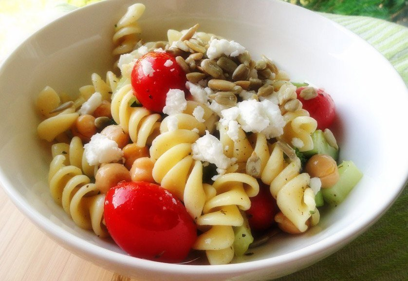 Easy and Light Summer Pasta Salad Recipe