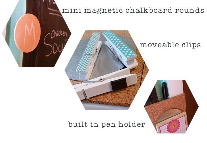 DIY upcycled cabinet door