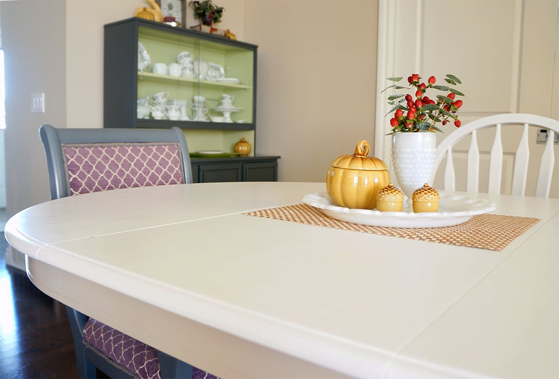 melamine paint dining table