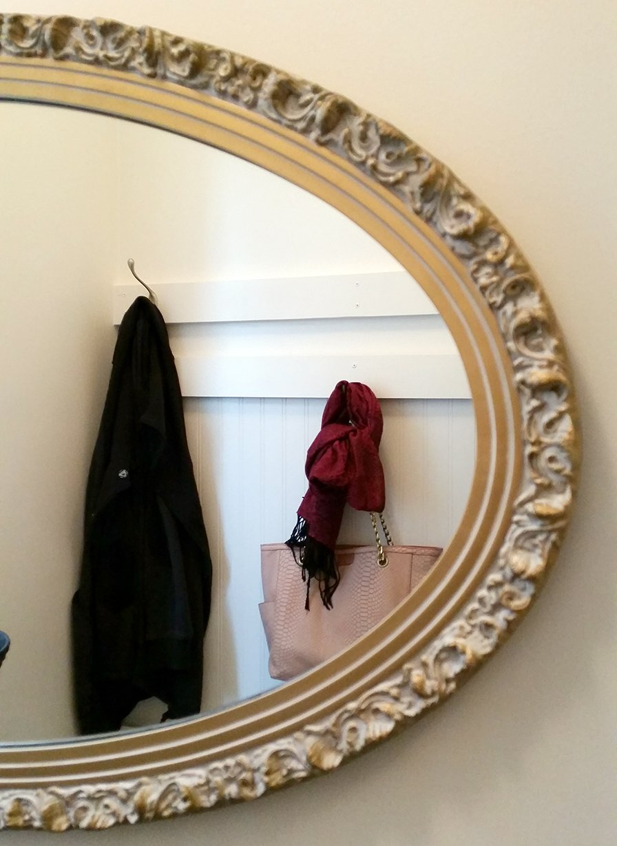 mudroom mirror
