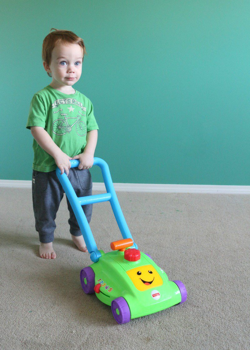 Fisher Price Mower Review