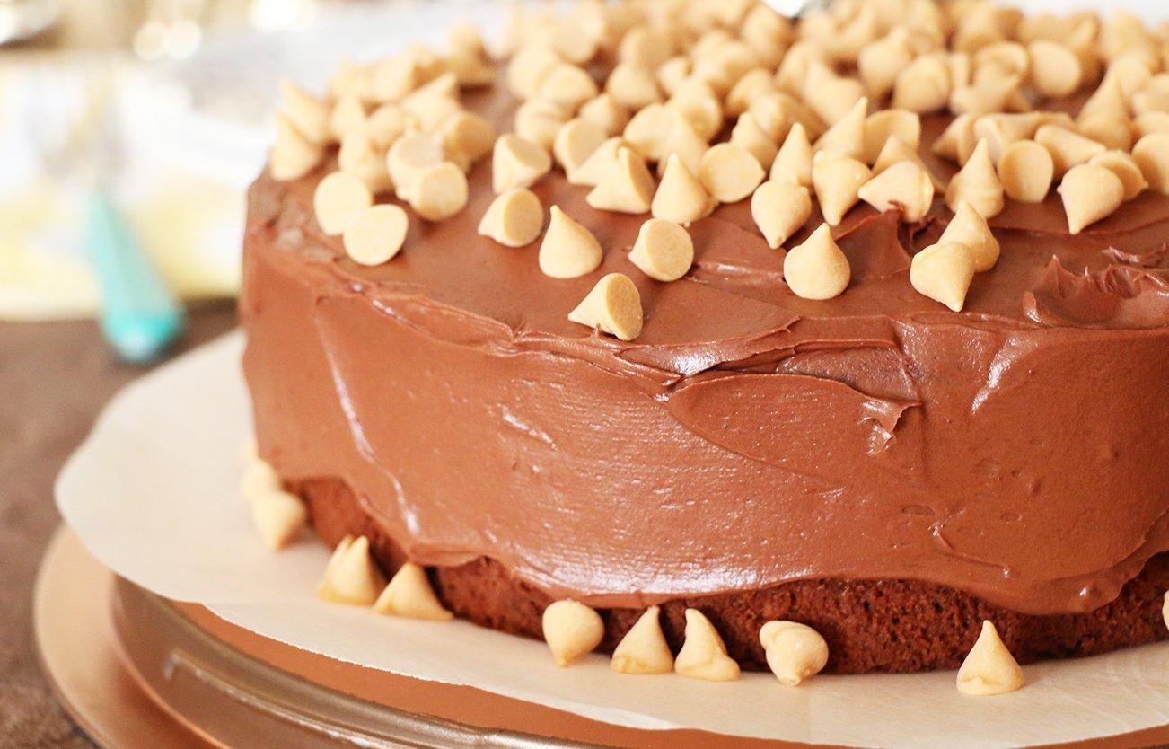 peanut butter banana cake