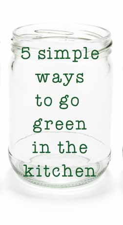 5 ways to go green