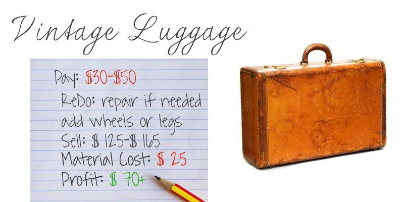repurposed luggage