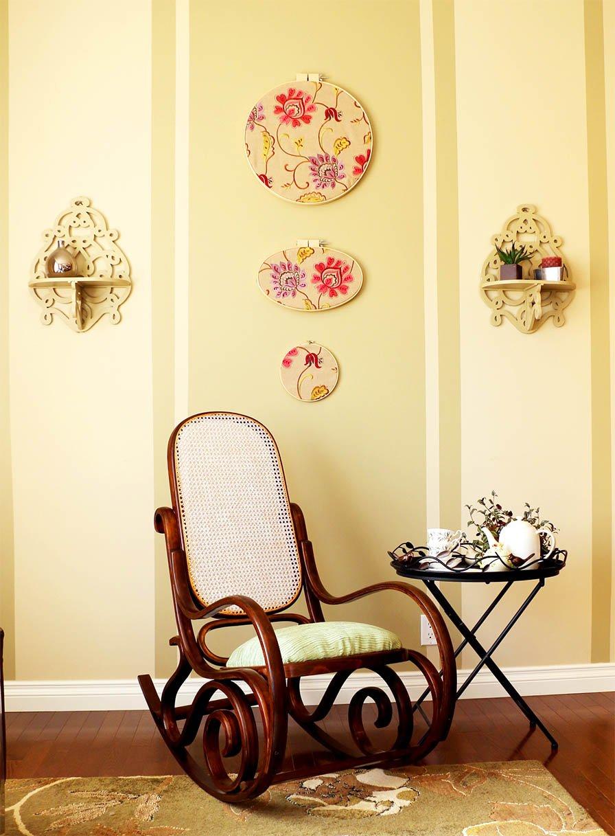 Superb Vintage Bentwood Rocking Chair Makeover Machost Co Dining Chair Design Ideas Machostcouk