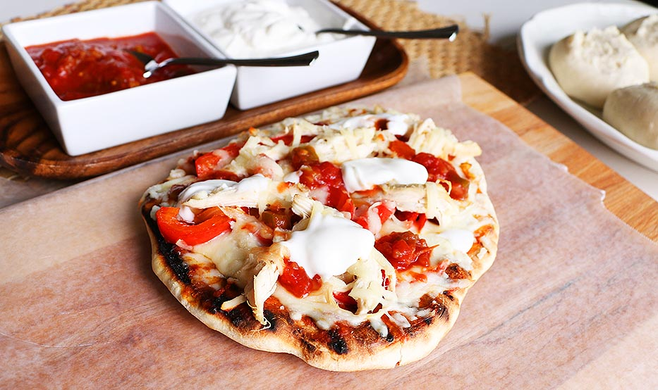 How to do Pizza on the Grill