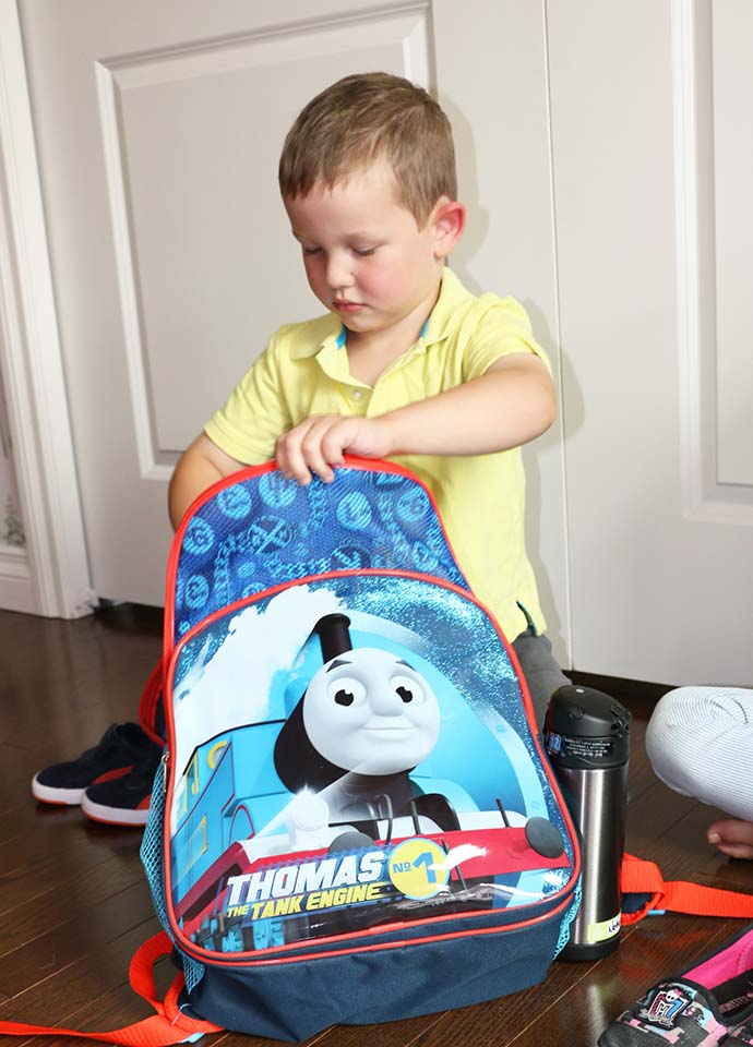 back to school thomas backpack