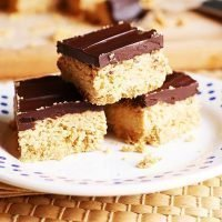 No Bake Honey Nut Oat Bars