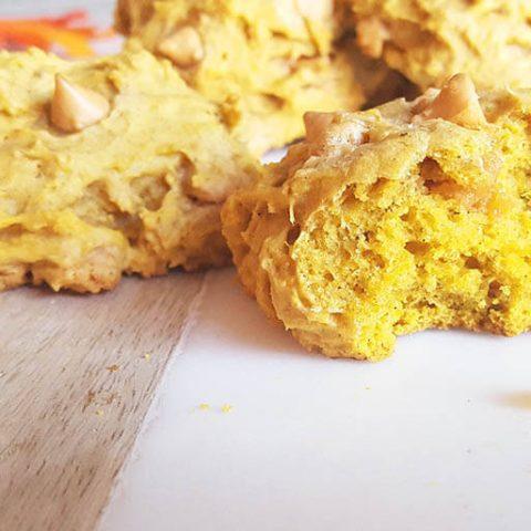 Ugly butterscotch chip pumpkin cookies