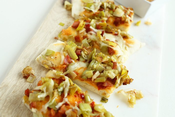 Sabra hummus flatbread recipe