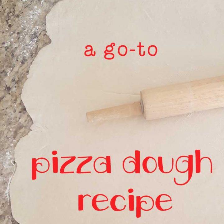 Go-to pizza dough recipe