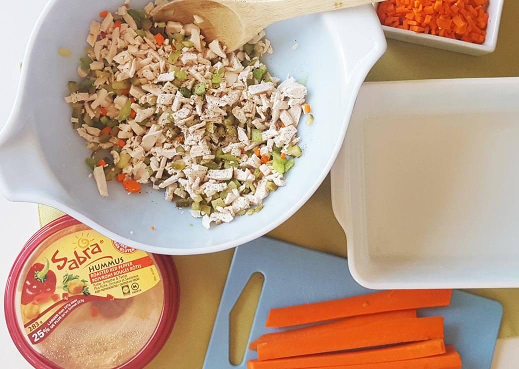 sabra hummus chicken salad