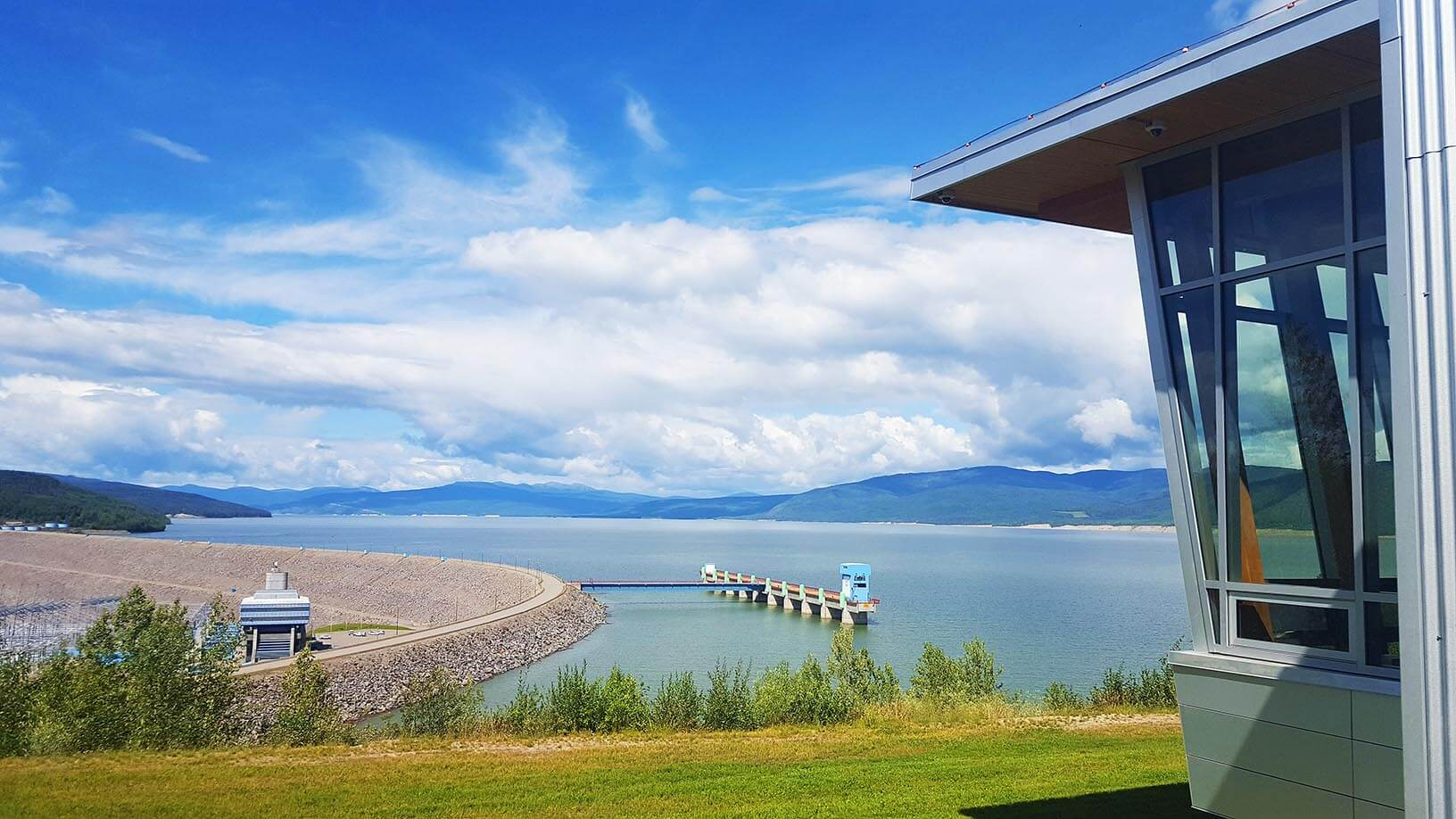 WAC Bennet Dam BC Hydro