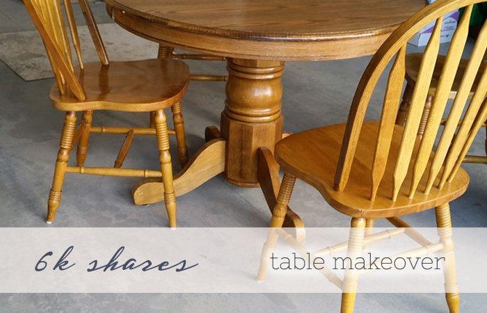table makeover slider