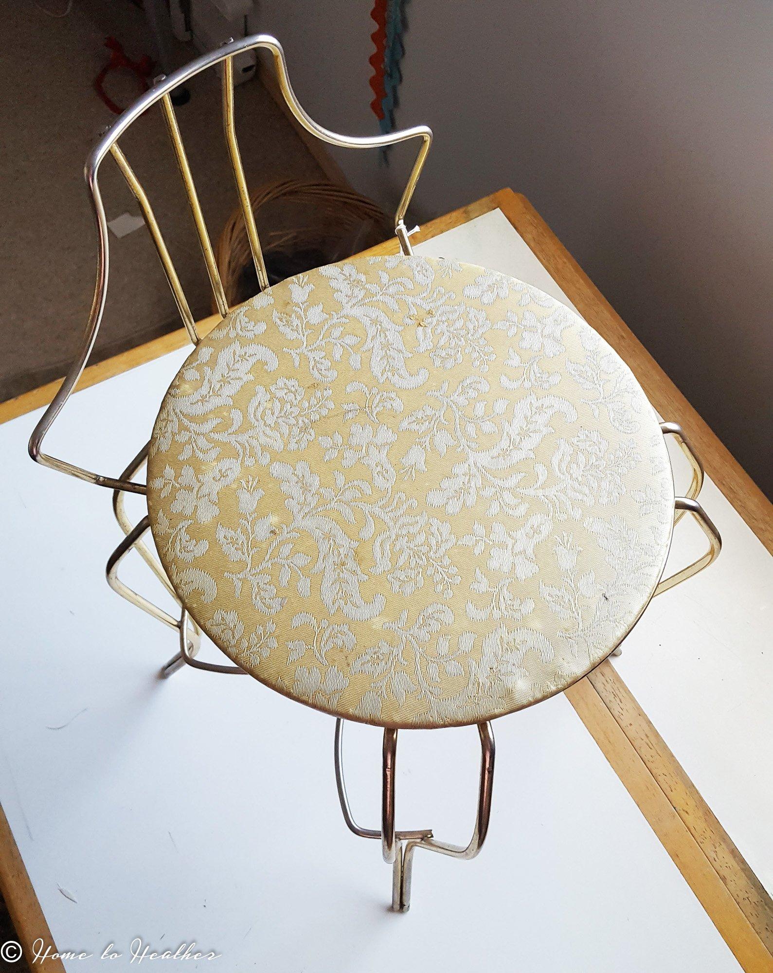 Fast Furniture Flip Vintage Vanity Chair