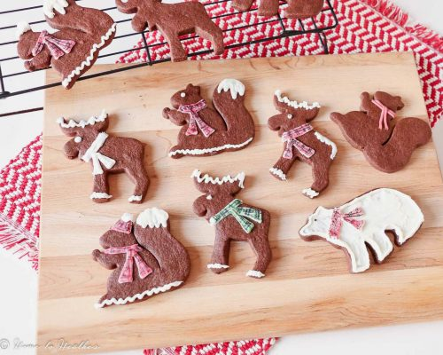 The BEST Chocolate Sugar Cookies Recipe