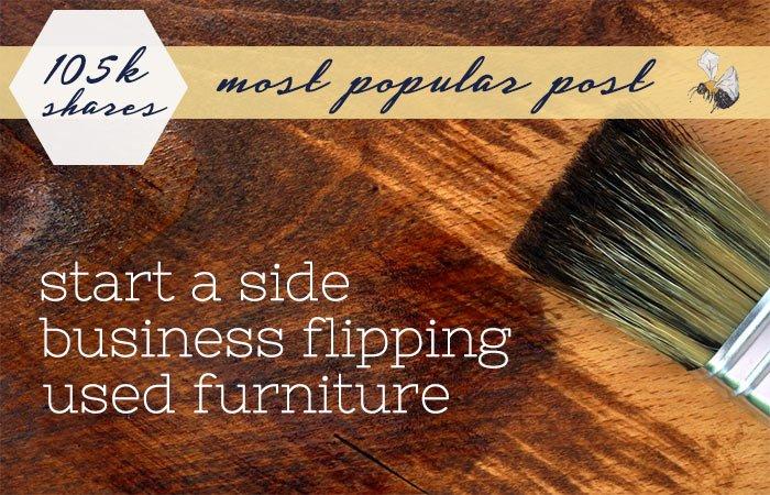 flipping furniture
