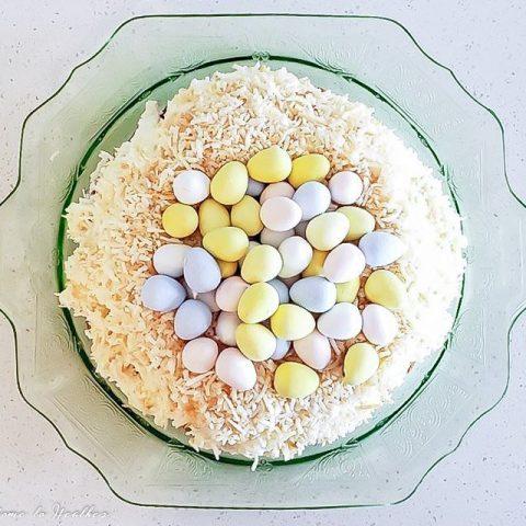Bird's Nest Carrot Cake